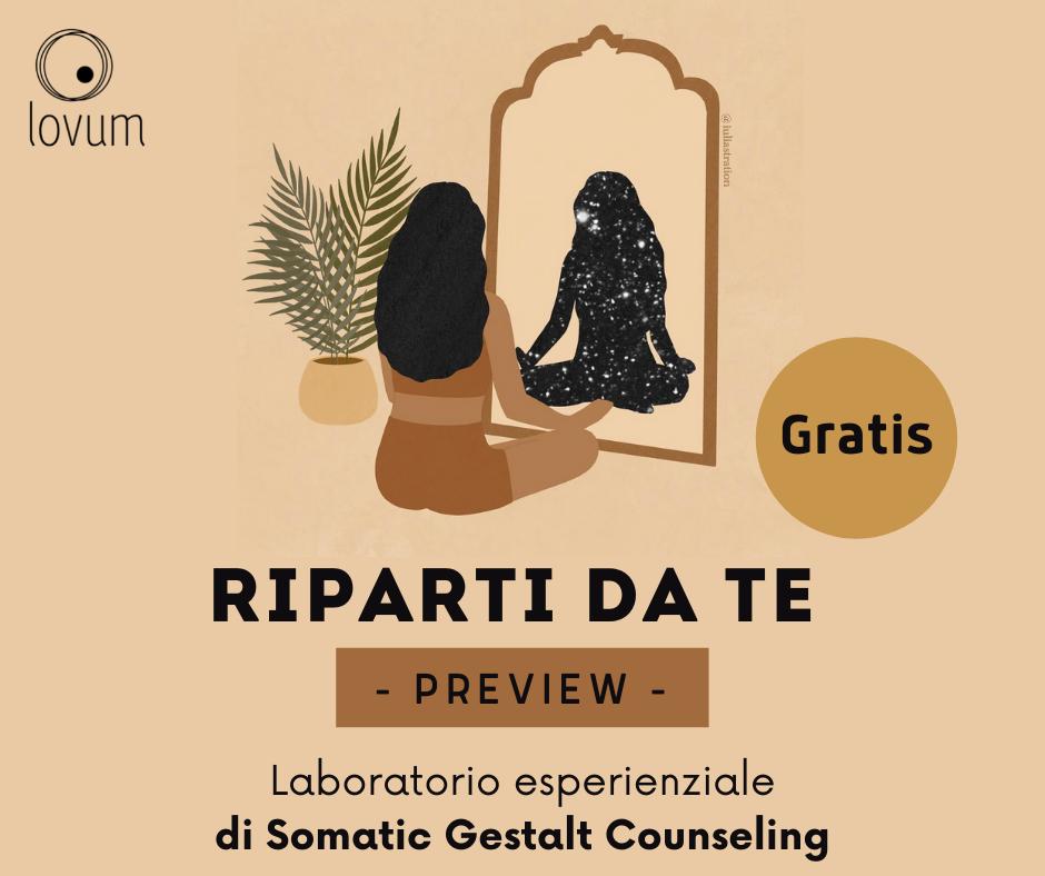 RIPARTI DA TE (Preview)